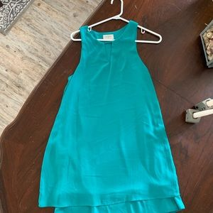 Blueish green Everly dress size M worn once